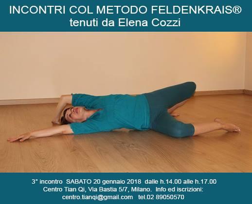 20/1/2018: Metodo Feldenkrais ®