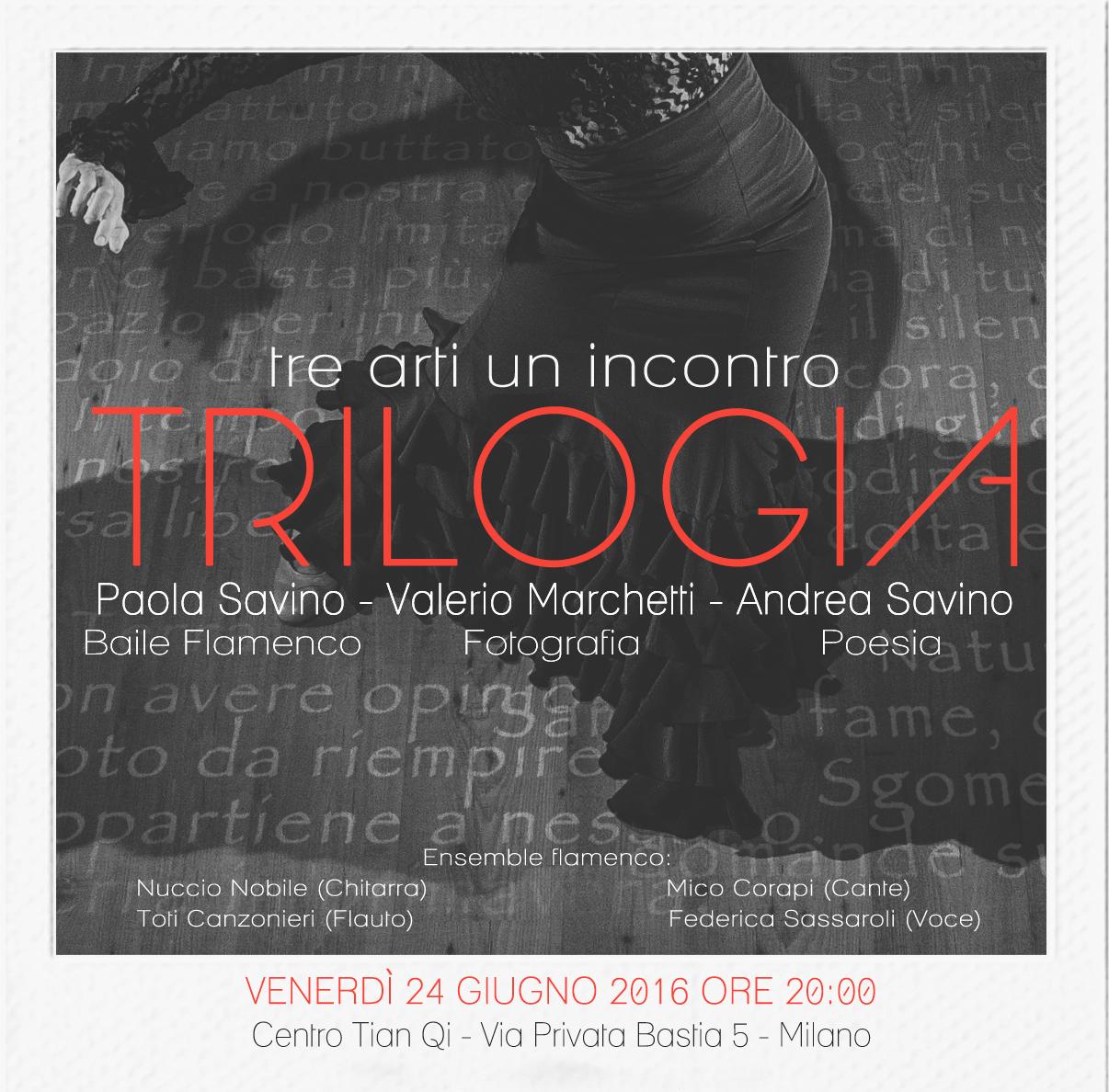24 giugno 2016 - trilogia: tre arti un incontro